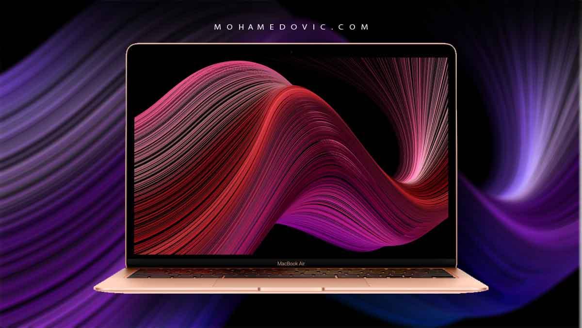 تحميل خلفيات ماك Macbook Air 2020 الرسمية صور Quad Hd عالية الدقة