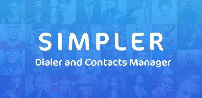 تطبيق SimpllerCallerID- Contacts and Dialr أحد تطبيقات الإتصالات