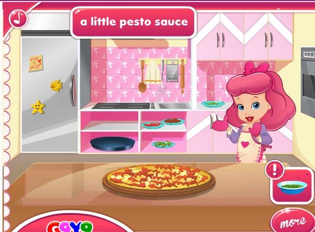 بنات طبخ لعبة تحضير كعكة 3