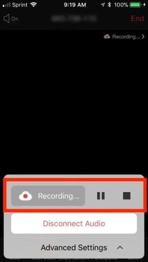 تسجيل فيديو زووم كلاود