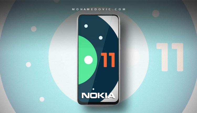 تحديث اندرويد 11 لأجهزة نوكيا