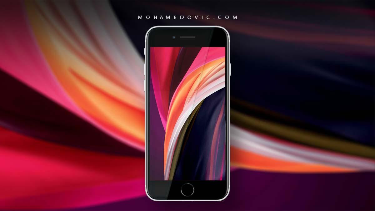 تحميل خلفيات ايفون Iphone Se 2020 الرسمية صور 4k عالية الدقة