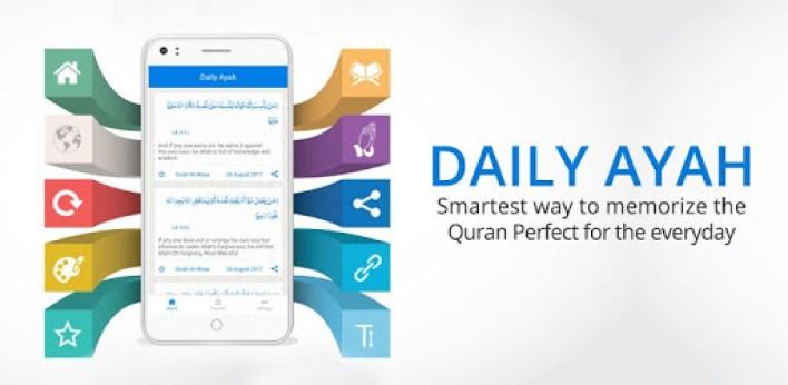 تطبيق Daily Ayah أحد تطبيقات حفظ القرآن الكريم