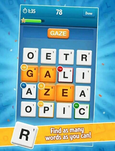 لعبة Ruzzle أفضل لعبة جماعية