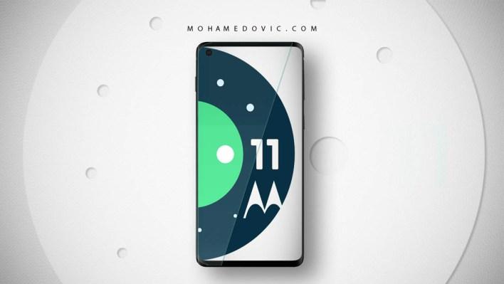 تحديث Android 11 لهواتف موتورولا