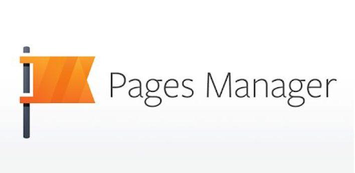 تطبيق Facebook Pages Manager أحد تطبيقات الفيسبوك