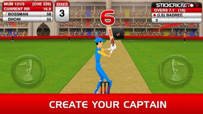 لعبة Stick Cricket premier league