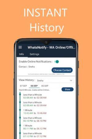 تطبيق WhatsNotify أحد تطبيقات الواتساب