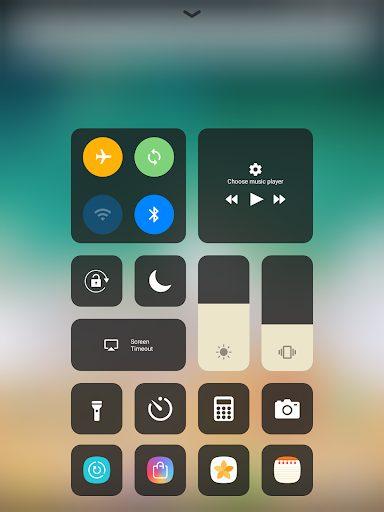 iOS Control Center Mohamedovic 01