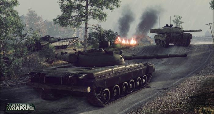 لعبة ارمور وارفير حرب الدبابات للكمبيوتر
