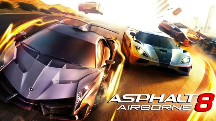لعبة Asphalt 8