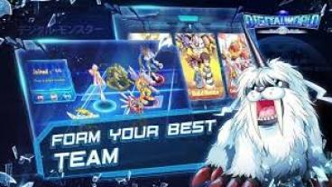 تنظيم الأبطال في لعبة Digital World Evolution