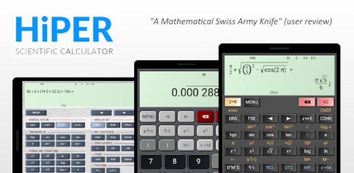 تطبيق HiPER Calculator