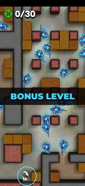Bonus Level في لعبة Hunter Assassin