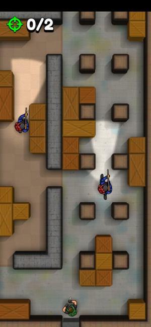 الدور الثاني من لعبة لعبة Hunter Assassin