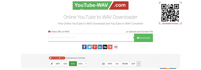 YouTube WAV Downloader