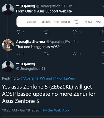 ZenFone 5 AOSP Android