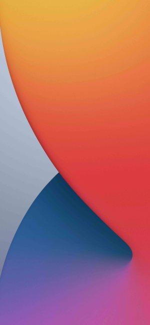 خلفية iOS 14