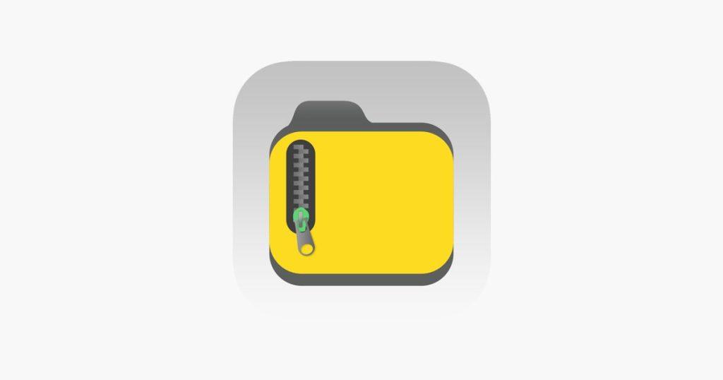 تطبيق iZip المتخصص في فتح ملفات الارشيف