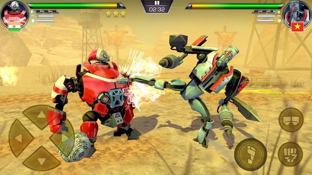 Clash of Robot لعبة قتال للاندرويد