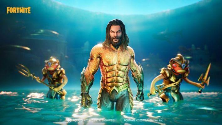 Aquaman happened against the Black Manta