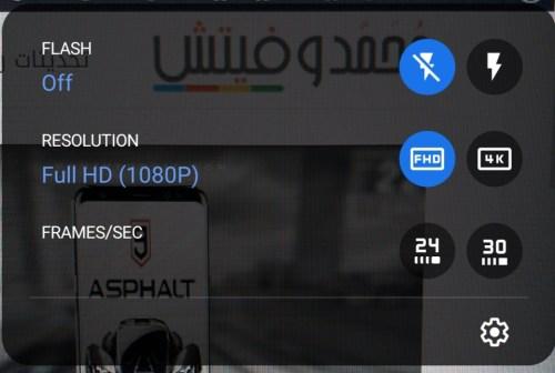 تصوير 4K في تطبيق جوجل كاميرا مود