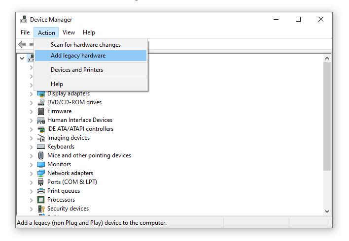 تثبيت تعريفات Android CDC على الكمبيوتر