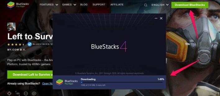 تثبيت تيك توك للكمبيوتر بواسطة محاكي بلوستاك