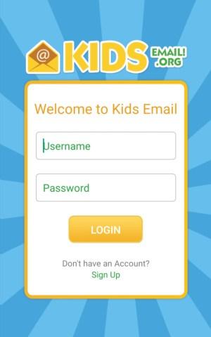 تطبيق Kids Email