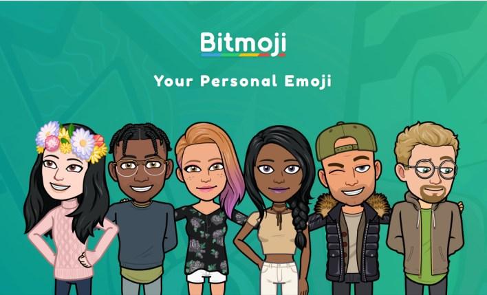 تطبيق Bitmoji أحد تطبيقات إنشاء الصورة الرمزية