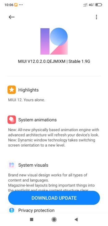 Poco F1 MIUI 12 update re released 3