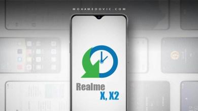 استرجاع اندرويد 9 لهواتف ريلمي X X2