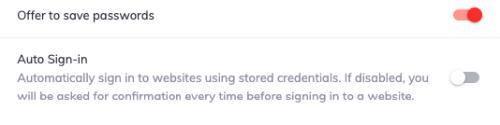 كيفية حذف كلمات السر المحفوظة في متصفح بريف