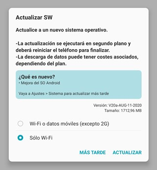 lg g8s thinq android 10