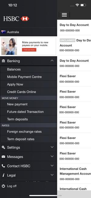 تطبيق بنك HSBC