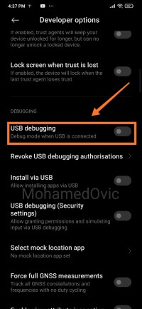 Enable OEM Unlocking USB Debugging MIUI 12 04