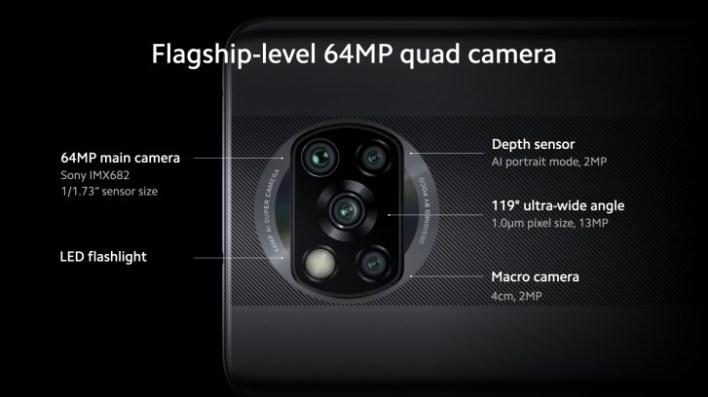 كاميرا بوكو اكس 3