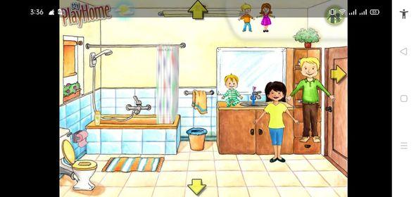 قم بتحميل لعبة ماي بلاي هوم، وعلم طفلك غسل الأسنان بالفرشاة