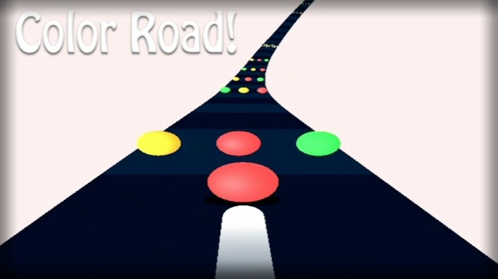 لعبة Color Road