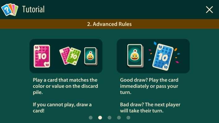 القواعد المتقدمة في اللعبة