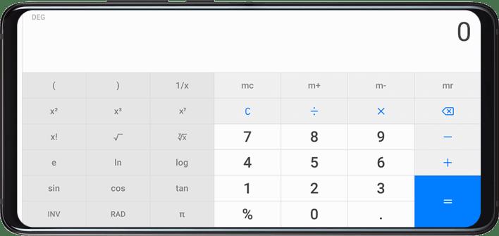تطبيق HUAWEI Calculator أحد برامج هواوي