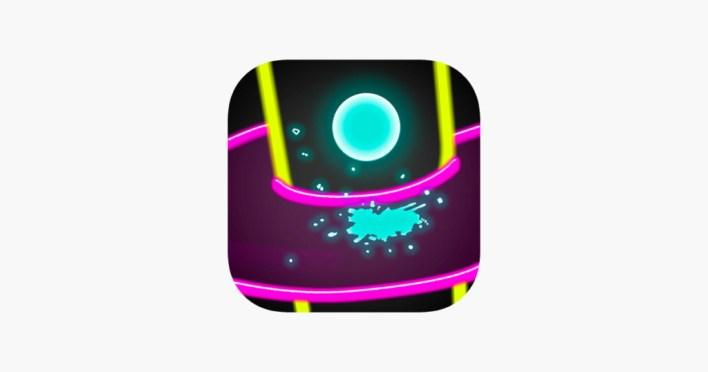 لعبة Helix Jump أحد ألعاب فودو