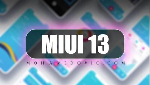 MIUI 13.0