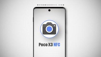 تحميل جوجل كاميرا apk لهاتف poco x3 nfc