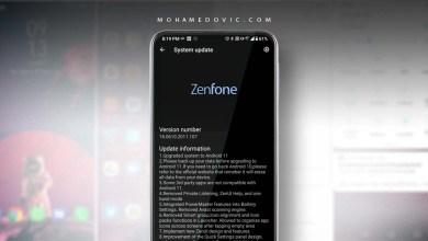 تحديث ASUS Zenfone 6