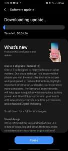Galaxy S20 Exynos One UI 3.0 update Australia
