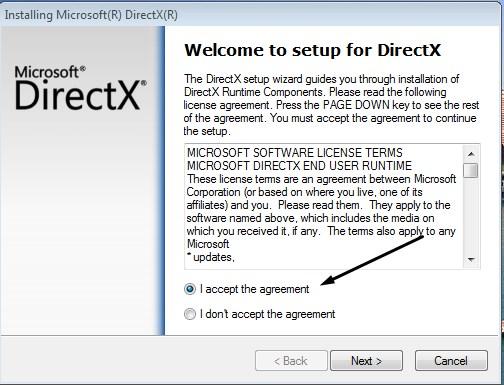 خطوات تثبيت Directx12 على الكمبيوتر
