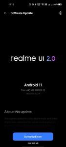 Realme 7 Pro Realme UI 2.0 beta 4