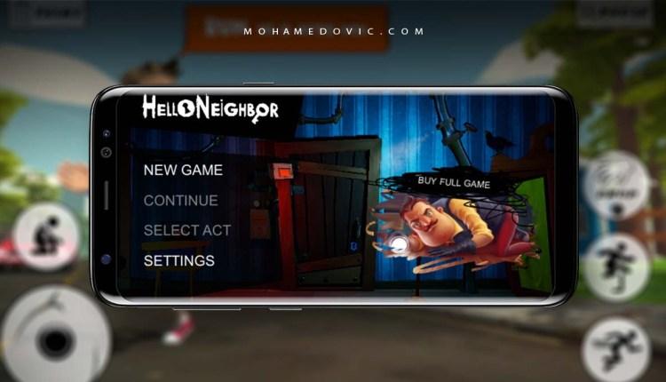 تحميل لعبة Hello Neighbor apk + obb
