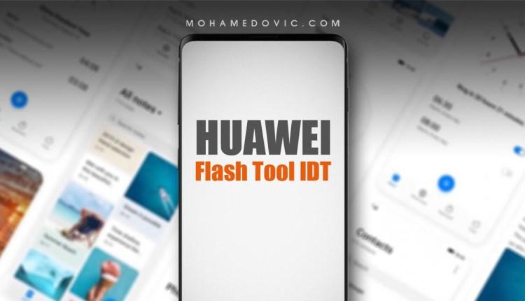 تحميل Huawei Flash Tool IDT